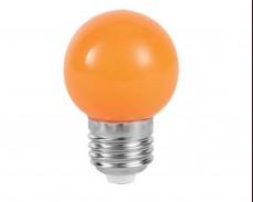 ОРАНЖЕВА LED крушка Е27 P45 220V
