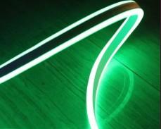 Двустранно светещ LED НЕОН гъвкав маркуч ЗЕЛЕН 220V