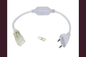 Захаранващ кабел за LED НЕОН IP65 220V комплект