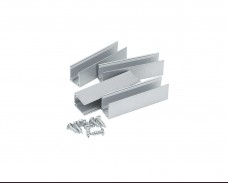 Алуминиев профил скоба за LED NEON маркуч 5см