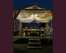 """Сватбено осветление """"Звезден купол"""" 1000 LED лампички под наем"""
