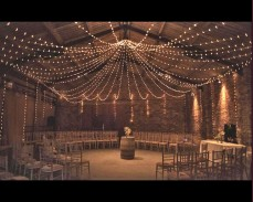 """Сватбено осветление """"Звезден купол"""" 3100 LED лампички под наем"""