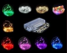 микро LED гирлянд под наем 2xAA батерии