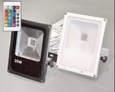 МНОГОЦВЕТЕН 20W RGB LED FLOOD прожектор под наем