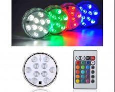 LED RGB водоустойчива лампа с дистанционно под наем