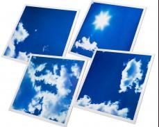 Светещи LED панели имитиращи небе и облаци 60х60 см.