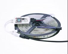 Комплект Wi-Fi RGB контролер с RGB LED лента 5м и захранване 12V