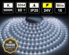 16W LED лента СТУДЕНО БЯЛО 60 5054 24V IP20