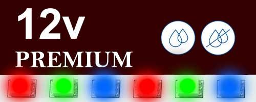 12V цветни ленти premium