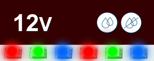 12V цветни ленти