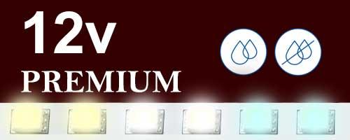 12V бели ленти Premium