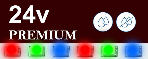 24V цветни ленти Premium