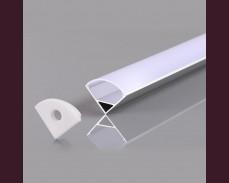 Алуминиев профил за LED лента 15,9х15,9мм ъглов