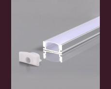 Алуминиев профил за LED лента 2м 7х17,4мм открит монтаж тип шина