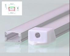 Алуминиев профил за LED лента 13x7мм