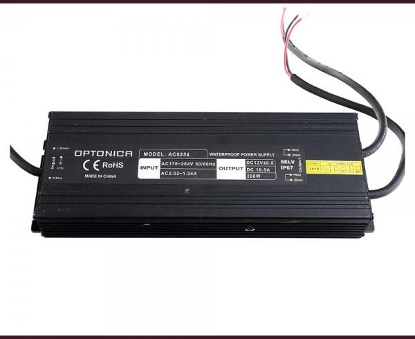 Влагоустойчиво захранване за LED лента 24V 200W IP67