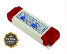 Захранване за LED лента 36W 12V 3A за вграждане Premium