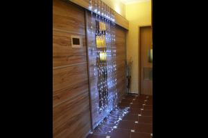 "Светещ ""Водопад"" 320 БЕЛИ led лампи 3 х 2.5м"